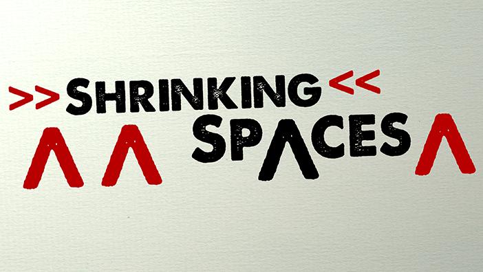 Shrinking Spaces - Veranstaltungen Februar bis Mai 2021
