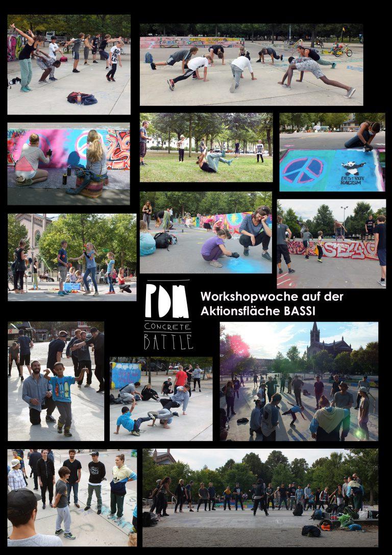 PDM Concrete-Battle WorkshopWoche 2017