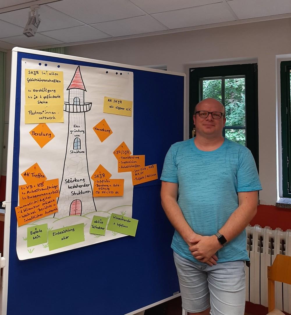 **Chris Trzensimiech** Koordinator des Arbeitskreises der Stadt- und Kreisjugendringe in Brandenburg